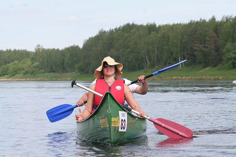 kanoe laivu noma Kurzemē